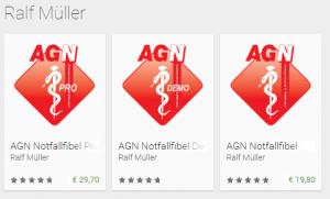Die AGN Notfallfibel Apps auf Google Play